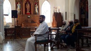 Mauro Grosso fue ordenado diácono en la Parroquia del Carmen