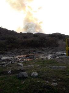 Bienvenidos: bomberos regresaron tras combatir el fuego en Córdoba (Videos)