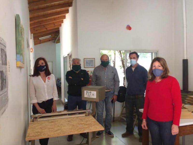 Rotary Club Tres Arroyos realizó un importante aporte al Taller Protegido ALPI