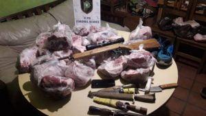 Detenidos por abigeato en un campo de Coronel Suárez
