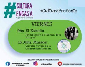 Agenda cultural virtual para este viernes