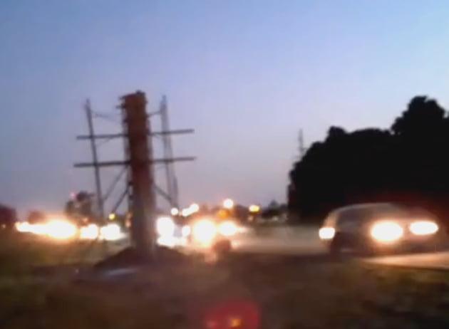 Claromecó: intenso tránsito en el regreso a Tres Arroyos (Video)