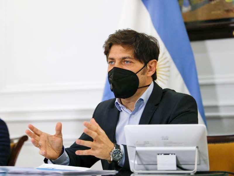 Kicillof en Mar del Plata presenta protocolos sanitarios para la Temporada