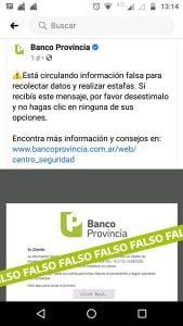 Advierten sobre hackeos y estafas a cuentas de clientes de Banco Provincia