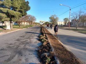 Acondicionan ramblas en el Camino al Cementerio
