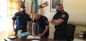 El oficial principal Gabriel Saracino asumió como jefe local de Caballería