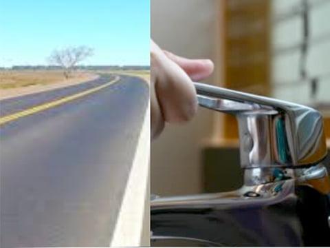 La diferencia entre un caño de agua y un metro de pavimento