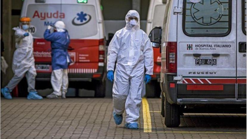 Coronavirus en Argentina: confirmaron 287 muertes y 10.324 nuevos contagios en las últimas 24 horas