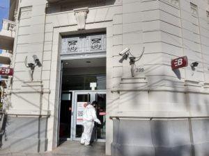 La Secretaría de Gestión Ambiental efectúa tareas de desinfección en espacios públicos