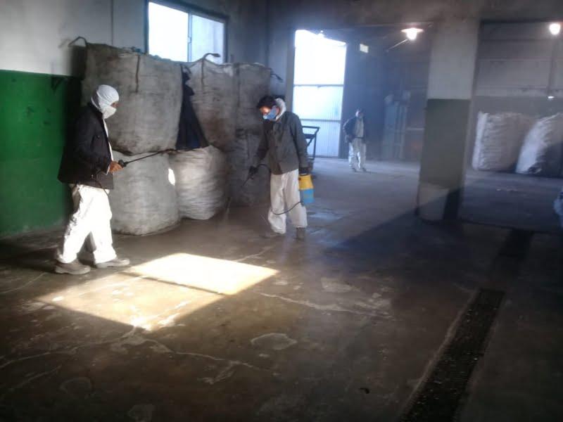 Suspenden actividad en la planta de reciclado de Bellocq por posible caso de coronavirus