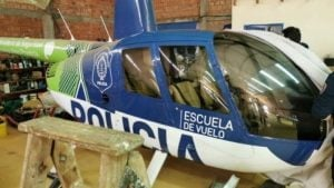 Investigación narco: hallan un helicóptero de la policía bonaerense en Paraguay