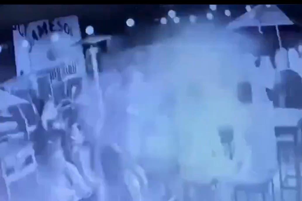 Video: así fue la explosión en el bar de San Miguel donde murió una joven