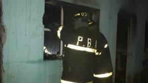 Un hombre falleció durante un incendio en una casa en Bahía Blanca