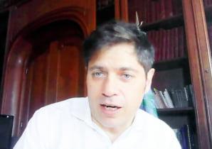 Gargaglione participó del encuentro virtual que encabezó el Gobernador