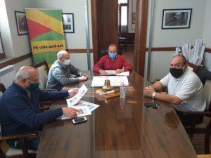 Polo Educativo: Sánchez y el Centro de Formación Laboral coordinan tareas
