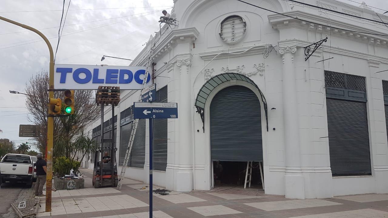 El lunes abriría Supermercados Toledo en Tres Arroyos