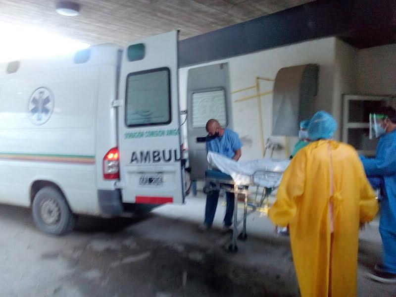 Claromecó: motociclista trasladado a Tres Arroyos por accidente en el Segundo Salto