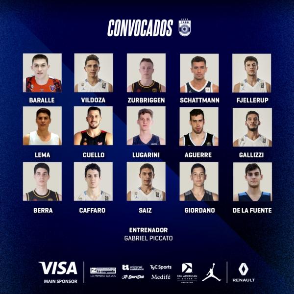 Fjellerup convocado a la Selección para las ventanas FIBA en Obras