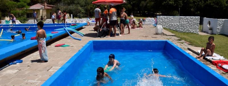 Extienden el Programa Municipal de Natación en San Cayetano