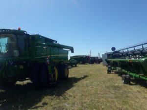Se está terminando una muy buena cosecha en la ciudad y la zona
