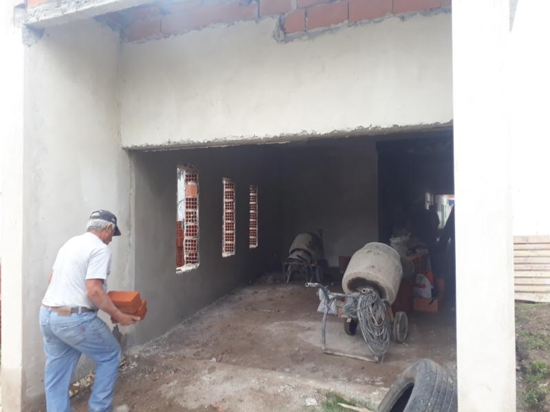 Notable avance de la construcción en la Escuela 5
