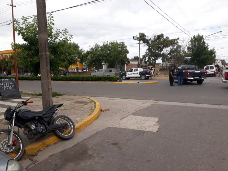 Accidente de tránsito en Av. San Martín
