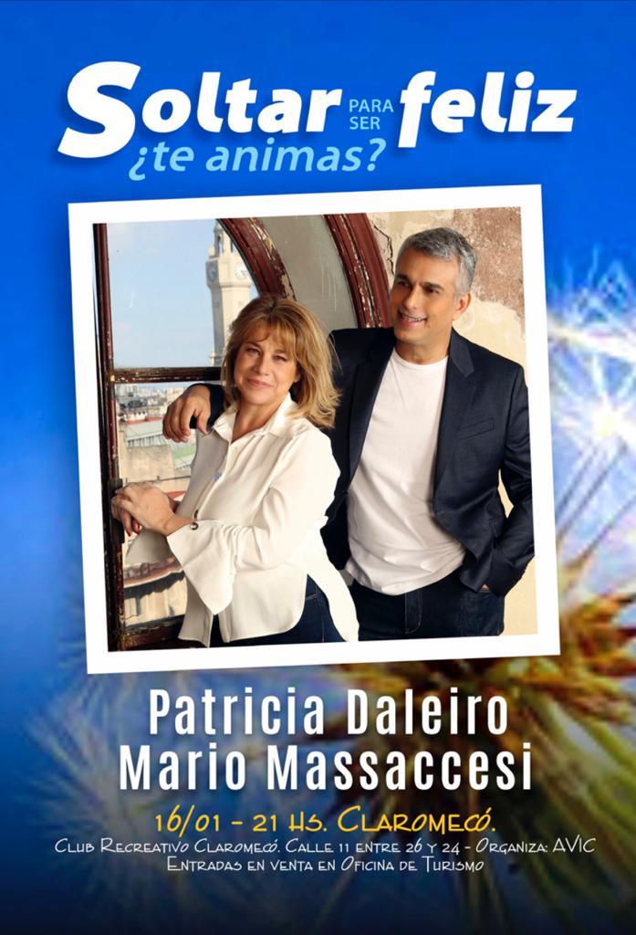 Patricia Daleiro y Mario Massaccesi presentan su libro en Claromecó