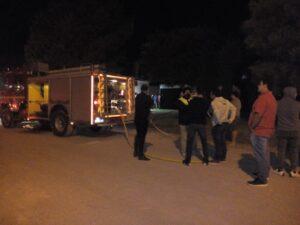 Incendio en una casa, esta madrugada, en Claromecó