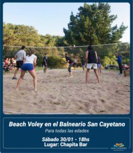 Actividades recreativas en San Cayetano para el fin de semana