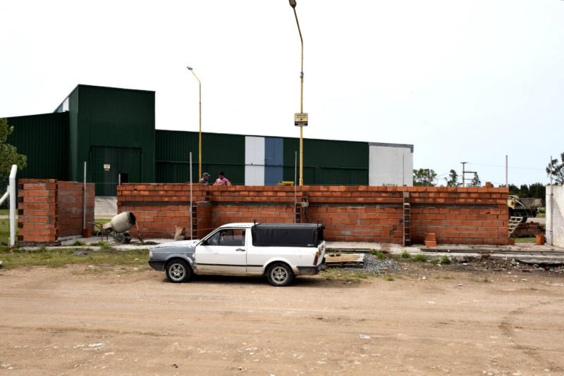 San Cayetano: Acondicionan boxes en la Planta de Tratamiento de Residuos