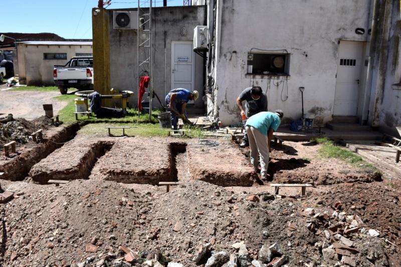 Nuevos baños públicos en la Municipalidad de San Cayetano