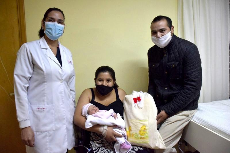 San Cayetano: nació la primer bebé del 2021