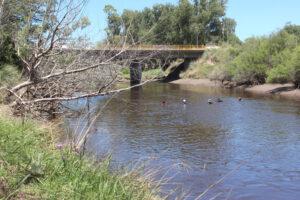Siguen los rastrillajes en el arroyo Claromecó