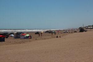 Tarde de viento en Claromecó