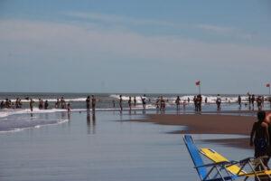 Fantástico día de playa en Claromecó