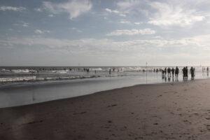 Otro día magnífico junto al mar en Claromecó