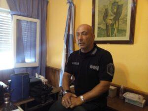 """Claromecó: el comisario mayor Larroca asumió como coordinador del operativo """"De sol a sol"""""""