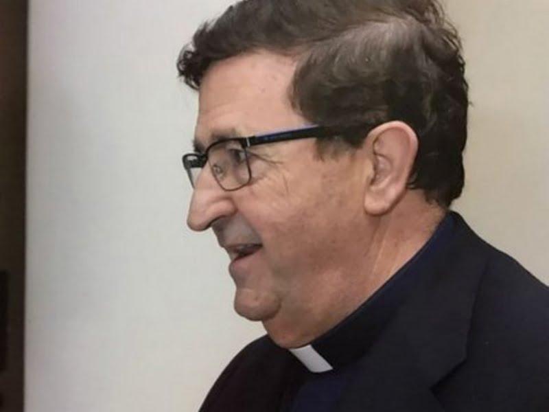 El Padre Cándido Fernández envió un saludo por el Año Nuevo