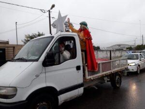 Recorrida de los Reyes Magos por los barrios de la ciudad