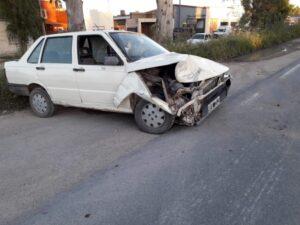 Accidente en Ruta 228 y La Rioja: una nena fue llevada al hospital