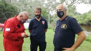 Claromecó: Perros de la brigada K9 y Defensa Civil participan de la búsqueda de Barreto