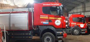 Nuevo camión de Bomberos en Orense