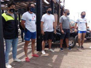 Entregaron dos cuatriciclos para los Guardavidas de Claromecó