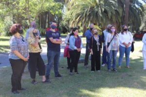 Los restos de Don Angel López Cabañas ya se encuentran en el Parque  (videos)