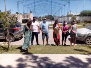 El Municipio entregó un nuevo subsidio para el SUM del Instituto Secundario Claromecó
