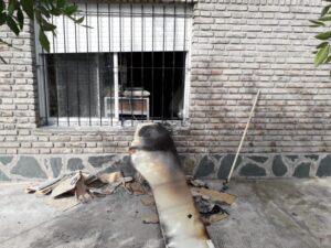 Se incendió una panadería tras un desperfecto eléctrico