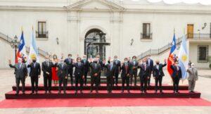 """""""Argentina y Chile son países indisolublemente hermanados"""", dijo el presidente Fernández"""