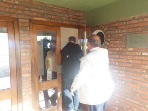"Berni en Tres Arroyos: llegó para acompañar ""el fuerte esfuerzo municipal"" (videos)"