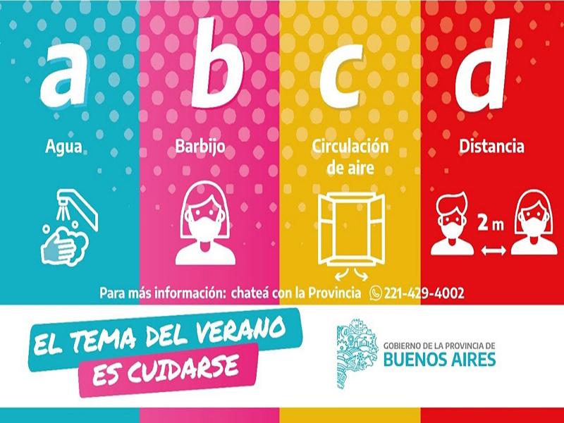 ABCD, el spot de la Provincia para disfrutar de un verano cuidado nombra a Claromecó (video)