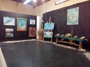 Muestras en el Espacio de Arte Quelaromecó